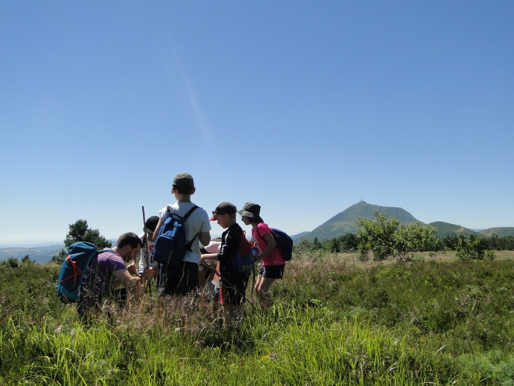 Classes vertes volcans légendes