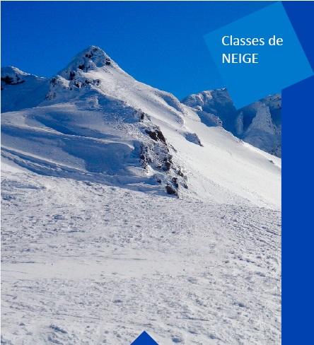 séjours scolaires en Auvergne neige